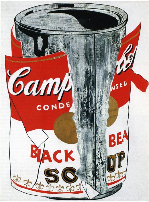 Д.Джонс. Флаг, идущий вверх, коллаж, 1955